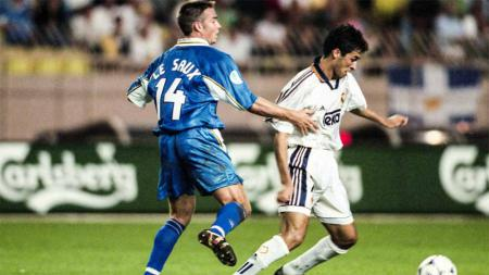 Laga Chelsea vs Real Madrid di Piala Super Eropa 1998. - INDOSPORT