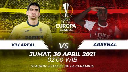 Prediksi Liga Europa Villarreal vs Arsenal. - INDOSPORT