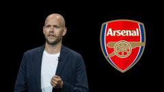 Indosport - Segini kekayan calon pemilik Arsenal, Daniel Ek.
