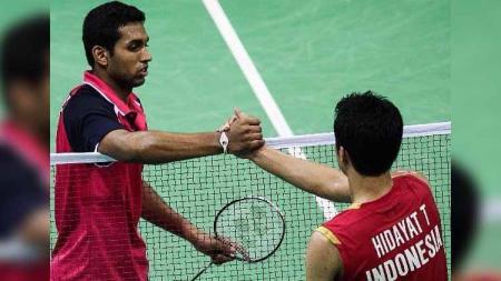 HS Prannoy berhadapan dengan Taufik Hidayat di India Open 2013 - INDOSPORT