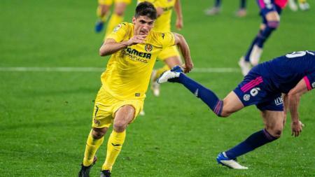 Penyerang Villarreal, Gerard Moreno. - INDOSPORT