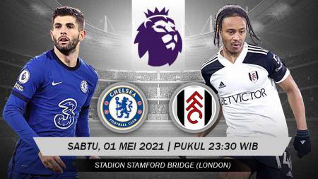 Prediksi pertandingan Liga Inggris antara tuan rumah Chelsea vs Fulham. - INDOSPORT