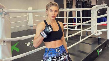 Ekaterina Vandaryeva, petarung cantik ONE Championship. - INDOSPORT