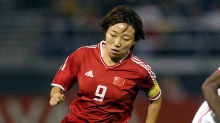 Sun Wen (pesepak bola wanita China). - INDOSPORT