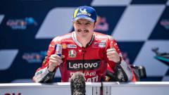 Indosport - Berikut hasil seri balapan keempat MotoGP Spanyol 2021, di mana Jack Miller keluar sebagai juara di sirkuit Jerez, Minggu (02/05/21).