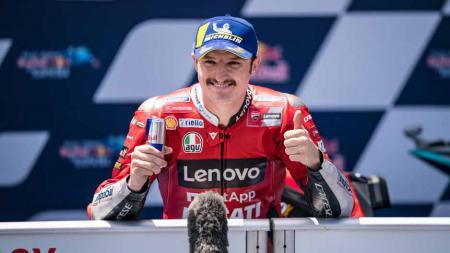 Berikut hasil seri balapan keempat MotoGP Spanyol 2021, di mana Jack Miller keluar sebagai juara di sirkuit Jerez, Minggu (02/05/21). - INDOSPORT