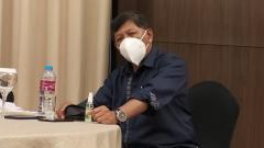 Indosport - Komisaris PT PBB, Kuswara S Taryono, pastikan kondisi Persib kondusif.