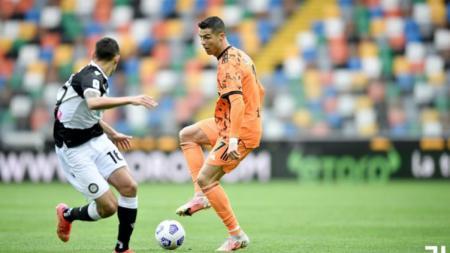 Berikut hasil dan jalannya pertandingan pekan ke-34 Serie A Italia 2020/21 antara Udinese vs Juventus, Minggu (02/05/21) pukul 23.00 WIB di Friuli stadium. - INDOSPORT