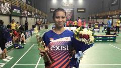 Indosport - Pebulutangkis putri potensial dari Indonesia, Putri Larasati.