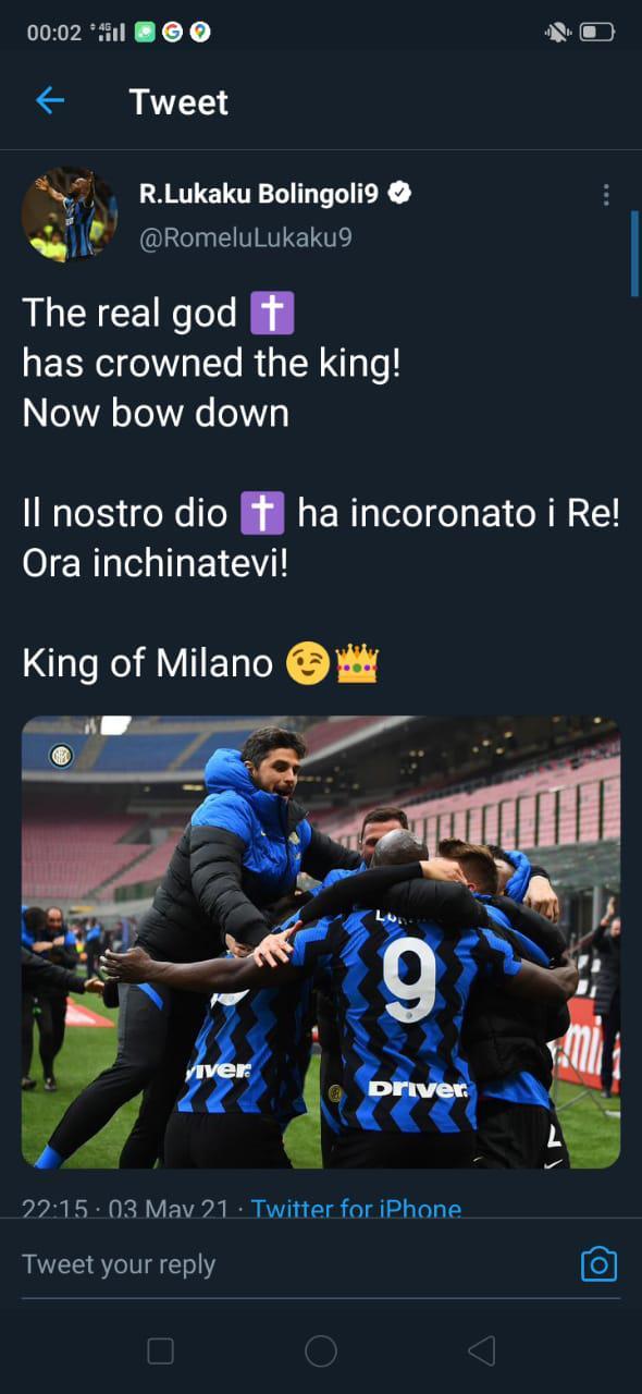 Romelu Lukaku-Zlatan Ibrahimovic 2 Copyright: Twitter