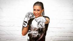 Indosport - Nadja Milijancevic, petarung bela diri asal Serbia.