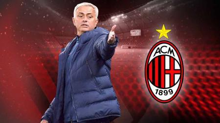 Jose Mourinho dikaitkan dengan AC Milan. - INDOSPORT