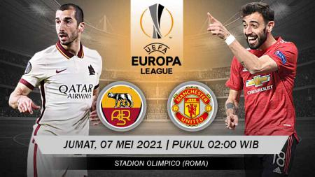 Pertandingan AS Roma vs Manchester United (Liga Europa). - INDOSPORT