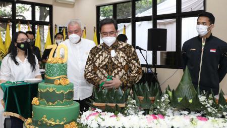 Tepat pada Rabu (5/5/21) kemarin, Persatuan Bulutangkis Seluruh Indonesia (PBSI) genap berusia 70 tahun. - INDOSPORT