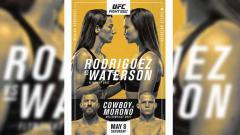 Indosport - Marina Rodriguez vs Michelle Waterson di UFC Vegas 26