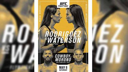 Berikut link live streaming UFC Vegas 26, yakni akan ada duel utama antara dua petarung cantik Marina Rodriguez vs Michelle Waterson hari ini, Minggu (09/05/21) - INDOSPORT