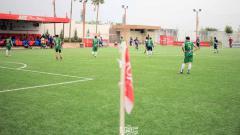 Indosport - Lapangan mini soccer dengan kualitas rumput berstandar FIFA