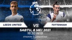 Indosport - Berikut link live streaming Liga Inggris antara Leeds United vs Tottenham Hotspur.