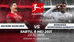 Indosport - Bayern Munchen vs Borussia Monchengladbach.
