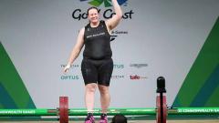 Indosport - Laurel Hubbard, atlet transgender pertama yang akan berpartisipasi di Olimpiade.