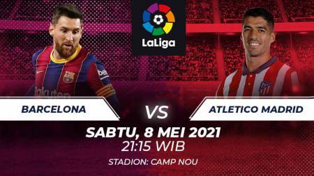 Barcelona vs Atletico Madrid. - INDOSPORT