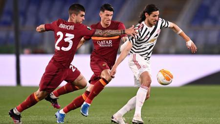 Berikut hasil pertandingan leg kedua semifinal Liga Europa antara AS Roma vs Manchester United, Jumat (07/05/21). Kena comeback, Setan Merah tetap ke final. - INDOSPORT