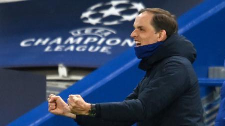 Jelang babak final Liga Champions 2020-2021, Thomas Tuchel optimis Chelsea bakal mengalahkan Manchester City dan menjadi juara. - INDOSPORT