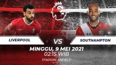 Indosport - Live streaming Liverpool vs Southampton.