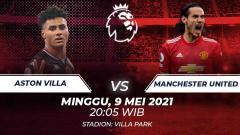 Indosport - Aston Villa vs Manchester United