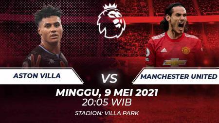 Aston Villa vs Manchester United - INDOSPORT