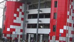 Indosport - Stadion Gelora Sriwijaya Jakabaring.