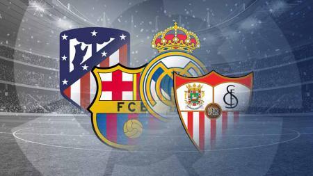 Pekan panas akan tersaji pada pekan ke-35 LaLiga Spanyol 2020-2021, bagaimana hitung-hitungan juara keempat tim teratas? peluang Juara LaLiga 2020-2021. - INDOSPORT