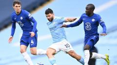 Indosport - Berikut hasil pertandingan Liga Inggris antara Manchester City vs Chelsea, Sabtu (08/05/21). Diwarnai blunder Sergio Aguero, Chelsea menang dan tunda pesta juara City.