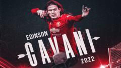 Indosport - Edinson Cavani perpanjang kontrak di Manchester United.