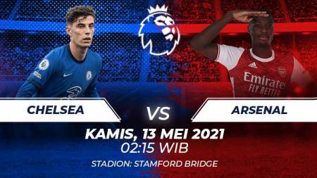 Chelsea vs Arsenal. - INDOSPORT