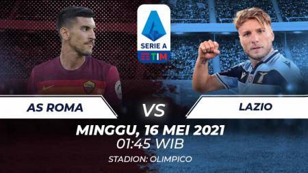 AS Roma vs Lazio - INDOSPORT