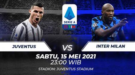 Juventus vs Inter Milan. - INDOSPORT