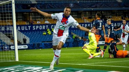 Semifinal Coupe de France sukses dimenangkan PSG yang mampu bungkam Montpellier. - INDOSPORT