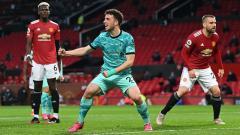 Indosport - Pertandingan Manchester United vs Liverpool pada laga tunda pekan ke-34 Liga Inggris 2020-2021, Jumat (14/05/21) dini hari WIB.