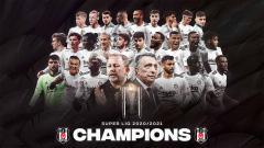 Indosport - Besiktas berhasil menjadi juara Liga Turki secara dramatis setelah unggul selisih satu gol dari rival mereka, Galatasaray.