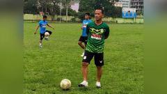Indosport - Pelatih PSMS Medan, Ansyari Lubis.