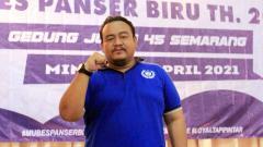Indosport - Ketua umum Panser Biru, Galih Eko Putranto.