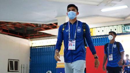 M. Ridwan saat berseragam PSIS Semarang. - INDOSPORT
