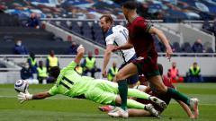 Indosport - Pertandingan Liga Inggris Tottenham vs Wolves