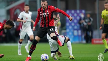 Pertandingan AC Milan vs Cagliari di Liga Italia - INDOSPORT
