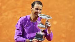 Indosport - Petenis Rafael Nadal selangkah lagi mendekati rekor milik Roger Federer setelah berhasil melaju ke semifinal Prancis Terbuka 2021 menghadapi Novak Djokovic.