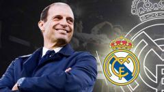 Indosport - Massimiliano Allegri dirumorkan akan bergabung Real Madrid.