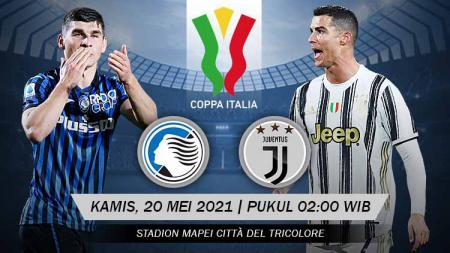 Prediksi pertandingan antara Atalanta vs Juventus (Coppa Italia). - INDOSPORT
