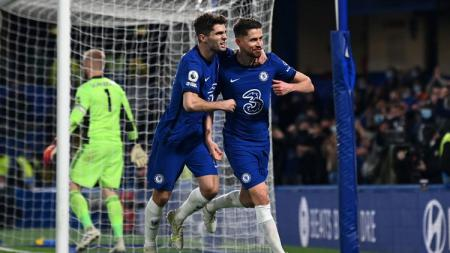 Chelsea menundukkan Leicester 2-1 di Liga Inggris yang membawa mereka ke peringkat 3. Berikut 4 fakta yang tercipta di balik kemenangan tersebut. - INDOSPORT
