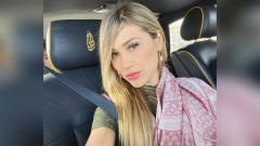 Indosport - Fernanda Gomez, selebgram Meksiko sekaligus istri Canelo Alvarez.